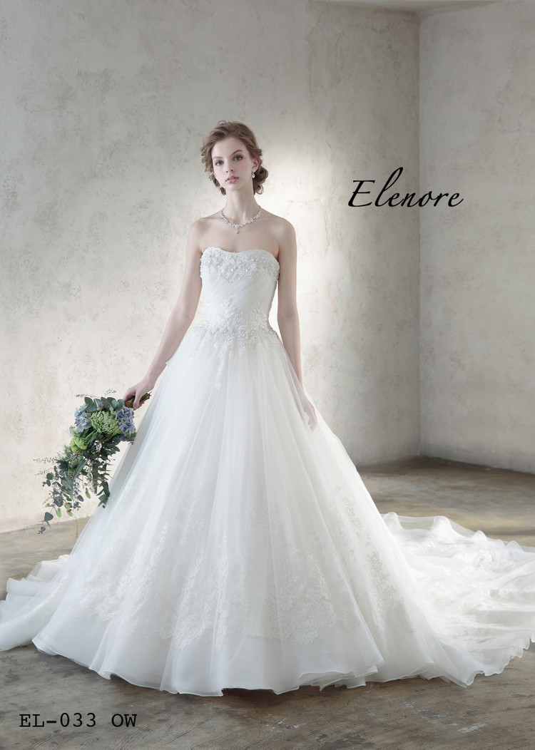 【Elenore】 EL-033 off white 1枚目