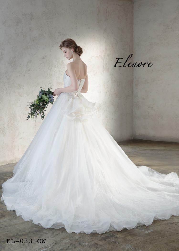 【Elenore】 EL-033 off white 2枚目