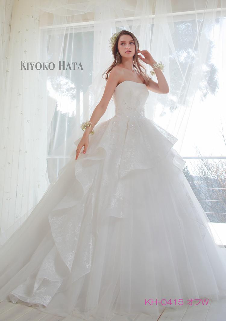 【KIYOKO HATA】 KH-0415 Offwhite 2枚目