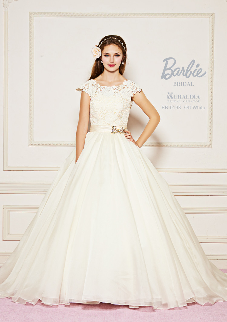 【Barbie BRIDAL】 BB-198 Off White 1枚目
