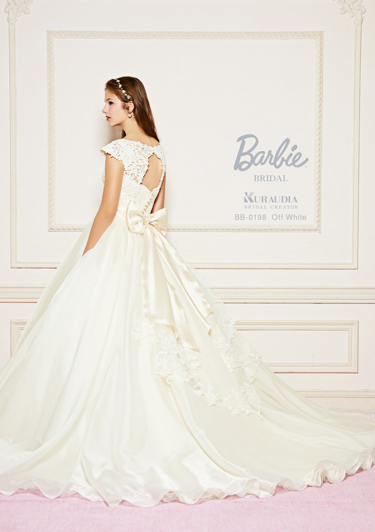 【Barbie BRIDAL】 BB-198 Off White 2枚目