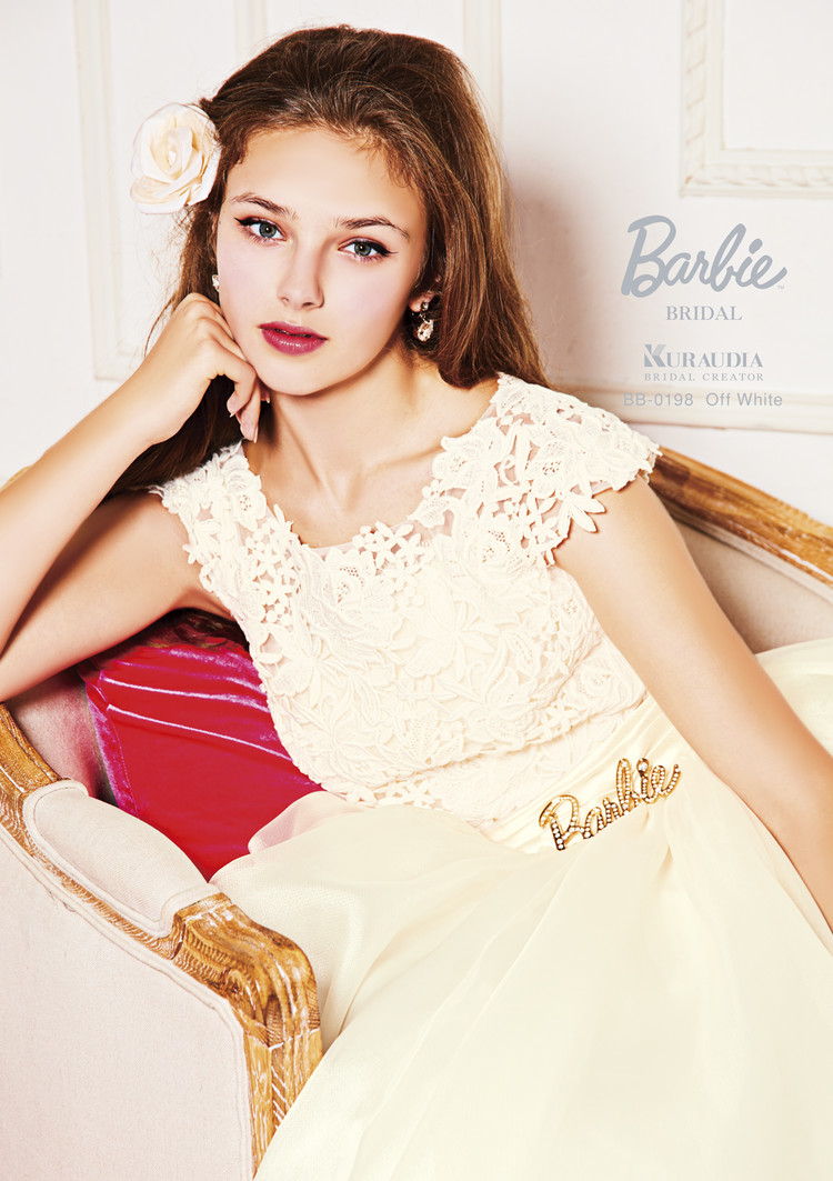 【Barbie BRIDAL】 BB-198 Off White 3枚目