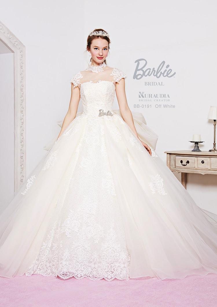 【Barbie BRIDAL】 BB-191 Off white 1枚目