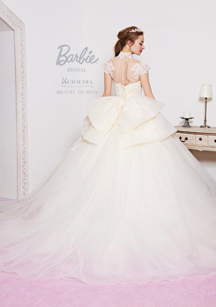 【Barbie BRIDAL】 BB-191 Off white 2枚目
