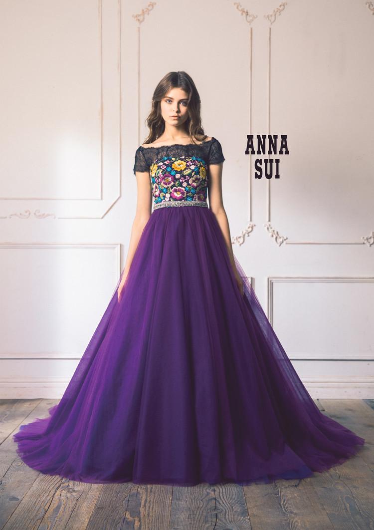 【ANNA SUI】 AN1B-pu Purple 1枚目