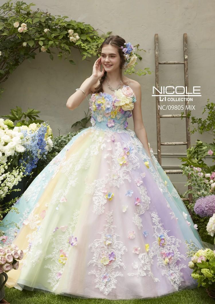 【NICOLE】 NC/09805 Mix 1枚目