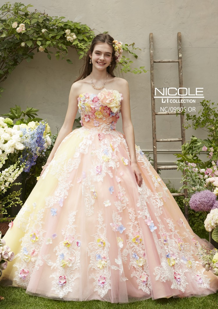 【NICOLE】 NC/09805 Orange 1枚目