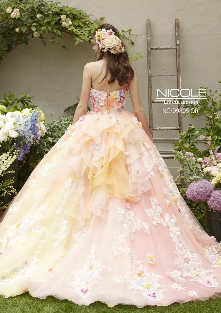 【NICOLE】 NC/09805 Orange 2枚目
