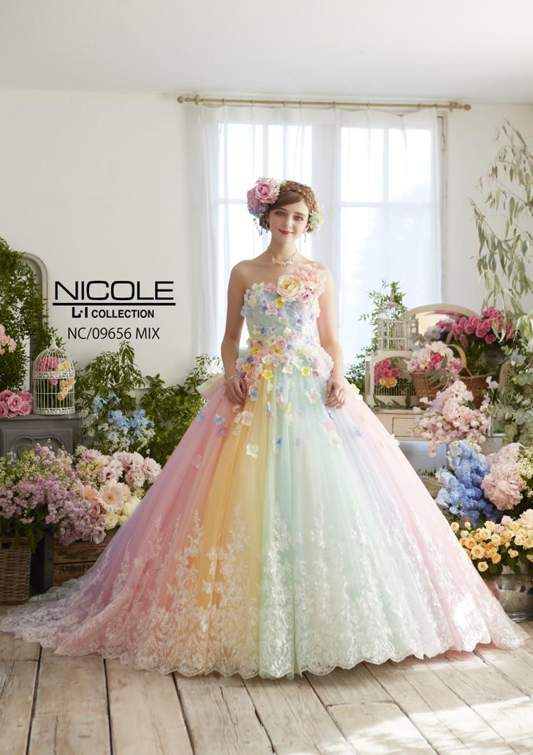 【NICOLE】 NC/09656 Mix 1枚目