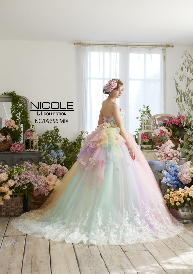【NICOLE】 NC/09656 Mix 2枚目