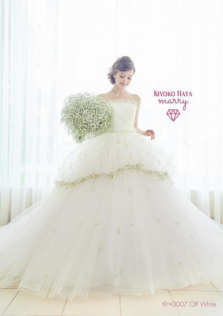【marry】 KH-0007 かすみ草ドレス 1枚目