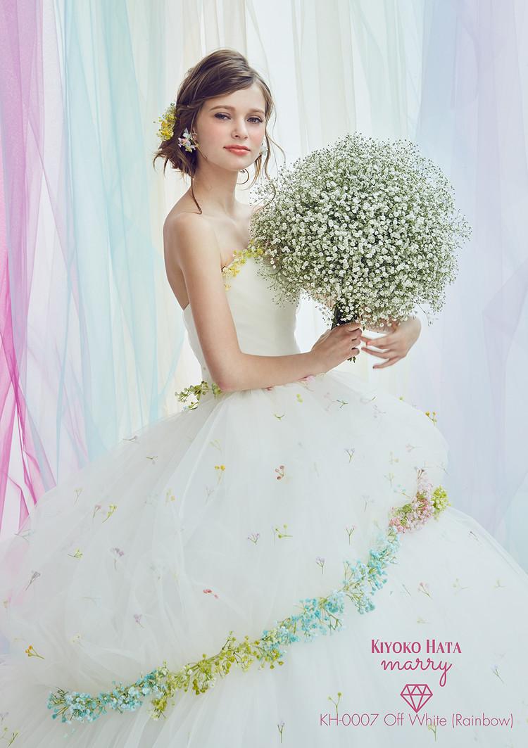 【marry】 KH-0007 かすみ草ドレス 2枚目