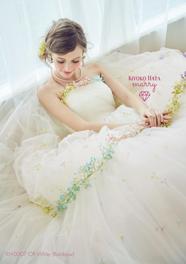 【marry】 KH-0007 かすみ草ドレス 3枚目