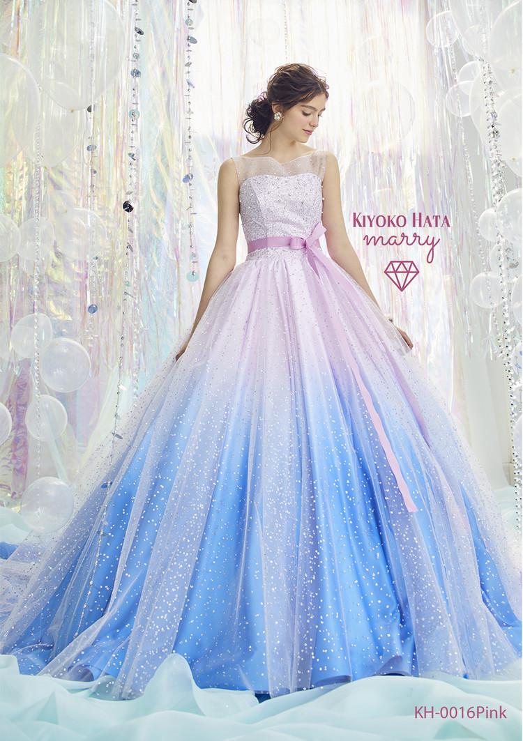 KIYOKO HATA×marry  KH-0016 キラキラシャーベットドレス 1枚目