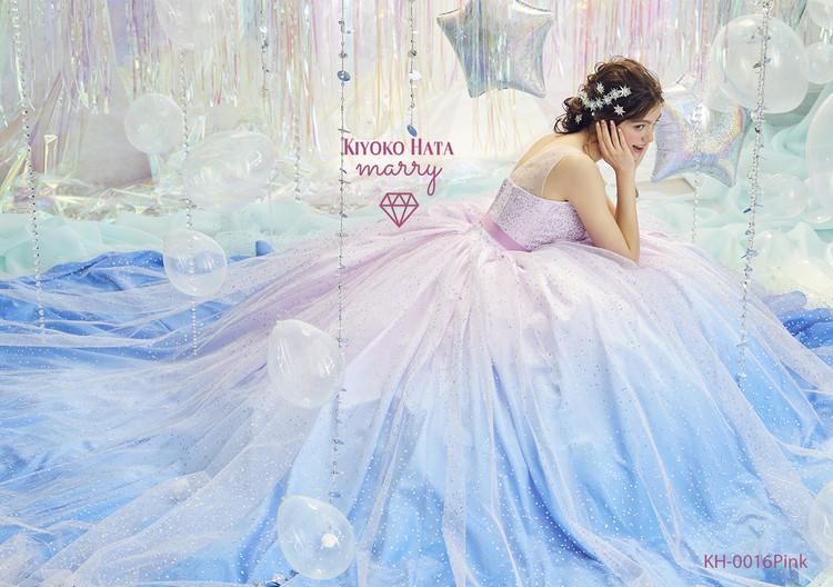 KIYOKO HATA×marry  KH-0016 キラキラシャーベットドレス 2枚目