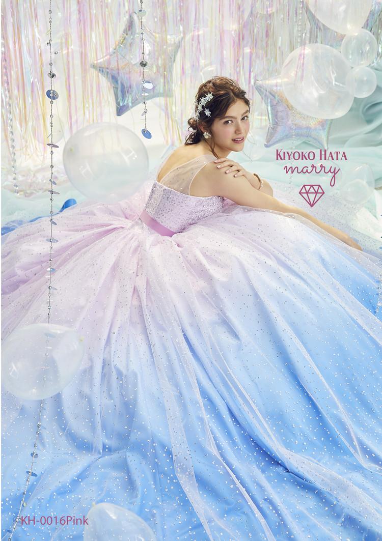KIYOKO HATA×marry  KH-0016 キラキラシャーベットドレス 3枚目