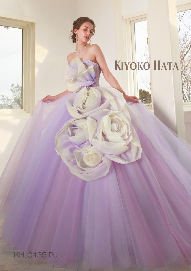 【KIYOKO HATA】 KH-0435 Purple 1枚目