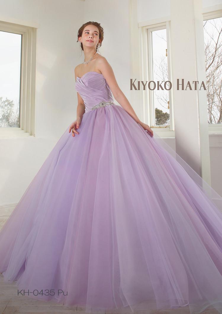 【KIYOKO HATA】 KH-0435 Purple 2枚目