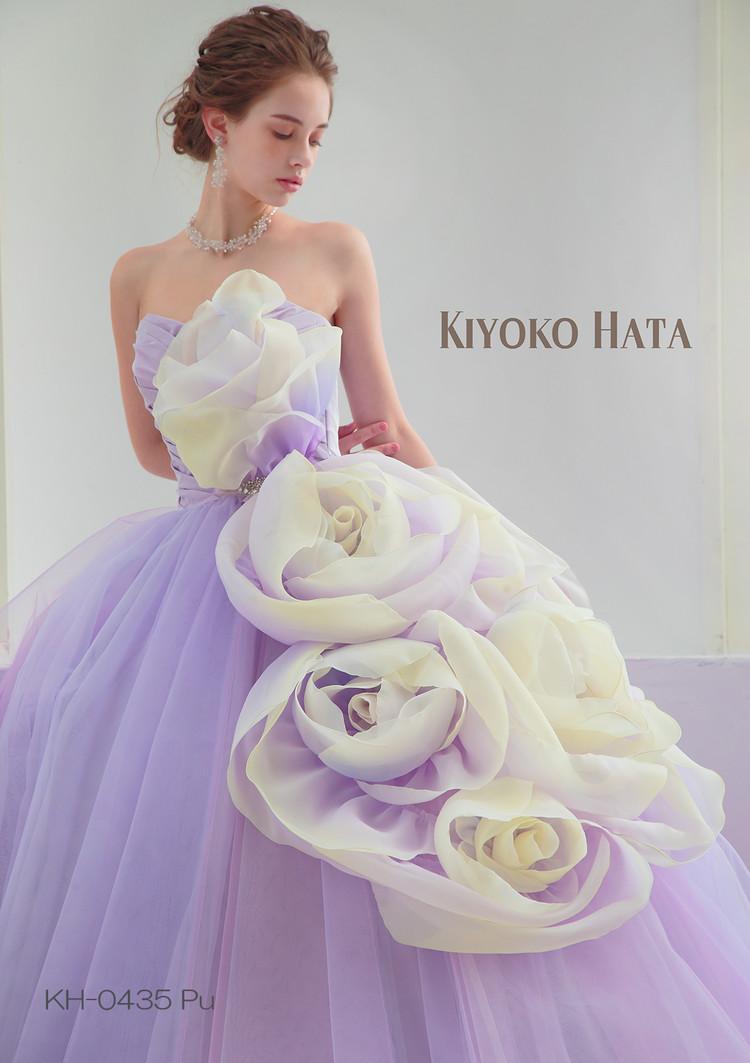 【KIYOKO HATA】 KH-0435 Purple 3枚目