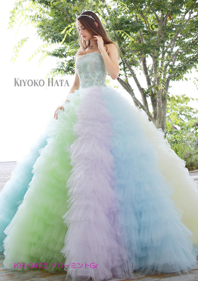 【KIYOKO HATA】 KH-0425 Peppermint green 1枚目