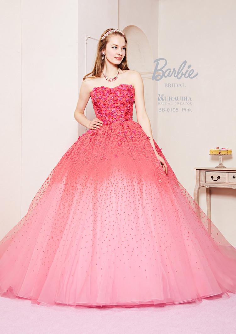 【Barbie BRIDAL】 BB-195 Pink 1枚目
