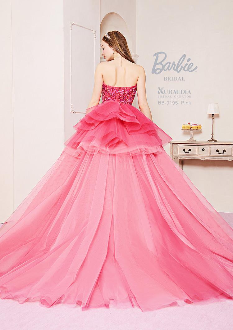 【Barbie BRIDAL】 BB-195 Pink 2枚目