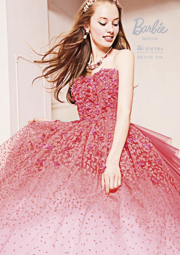 【Barbie BRIDAL】 BB-195 Pink 3枚目