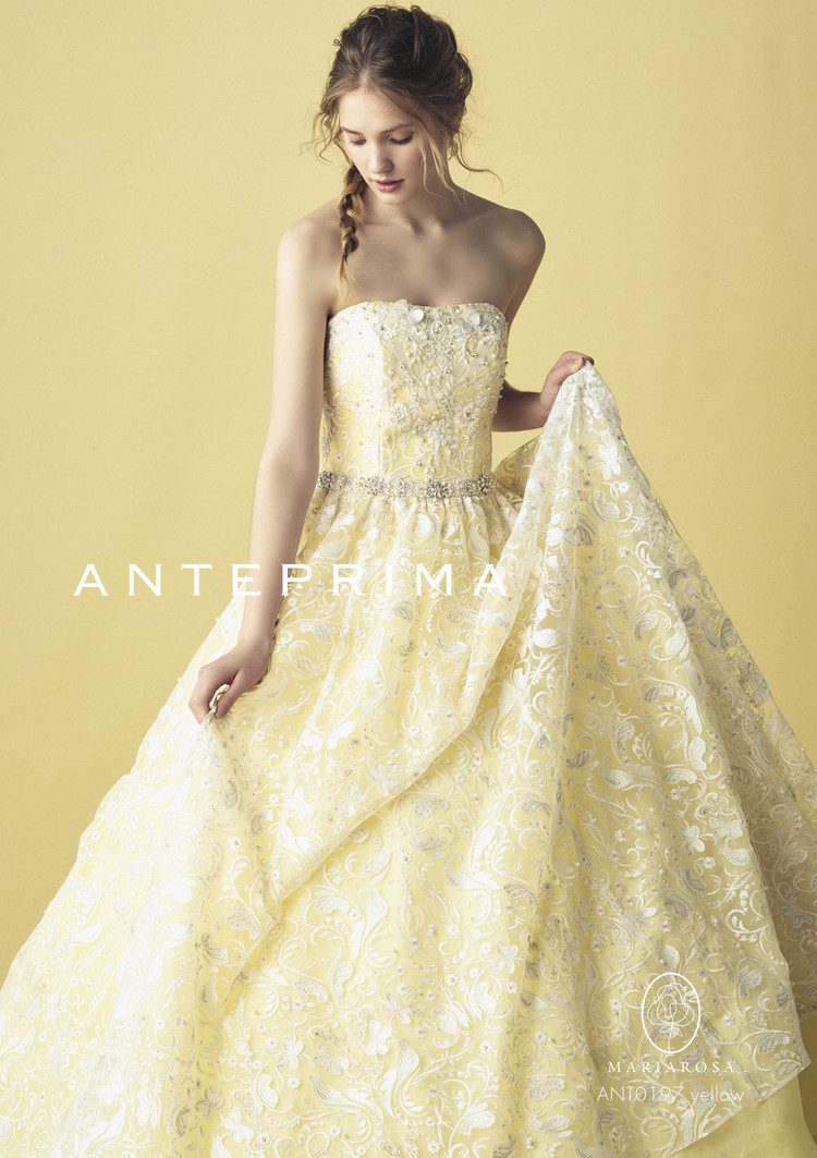 99b09875da2cc ANT0197 yellow|ANTEPRIMA(アンテプリマ)のウェディングドレス