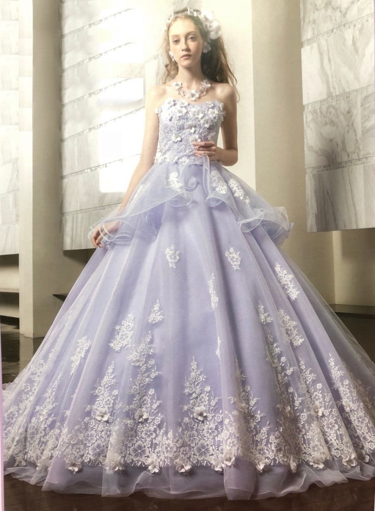 インポートブランドのカラードレス 1枚目