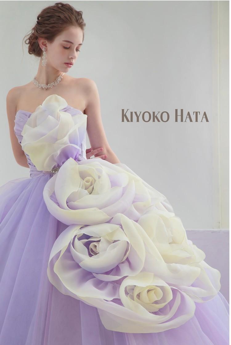KIYOKO HATA キヨコ ハタのカラードレス 1枚目