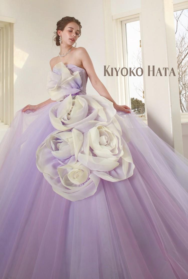 KIYOKO HATA キヨコ ハタのカラードレス 3枚目