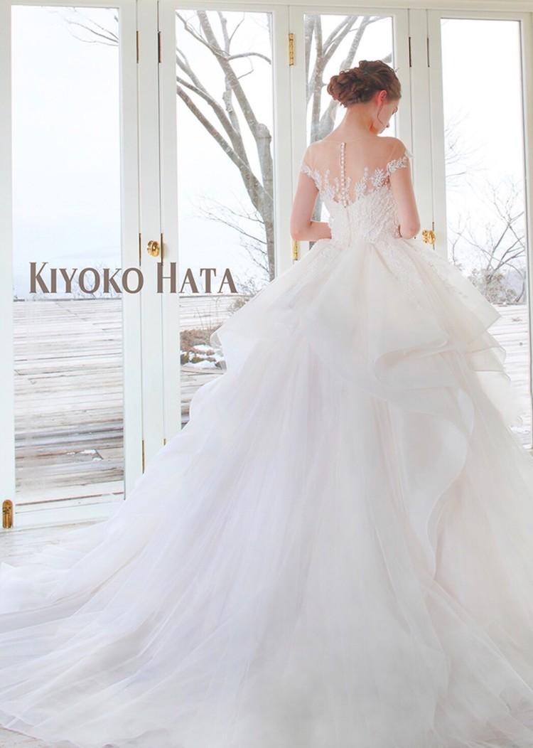 KIYOKO HATA キヨコ ハタのウエディングドレス 3枚目