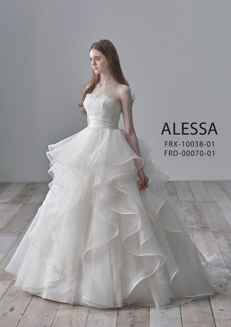 ALESSAのインポートウエディングドレス 1枚目